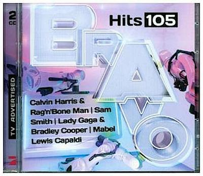 Bravo Hits. Vol.105, 2 Audio-CDs