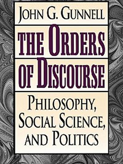The Orders of Discourse
