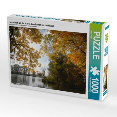 Herbstlaub an der Havel (Puzzle)
