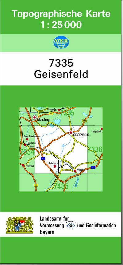 Geisenfeld 1 : 25 000