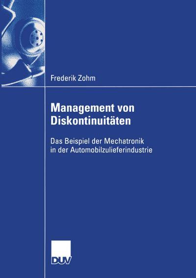 Management von Diskontinuitäten