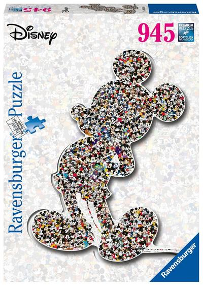 Shaped Mickey. Puzzle 945 Teile