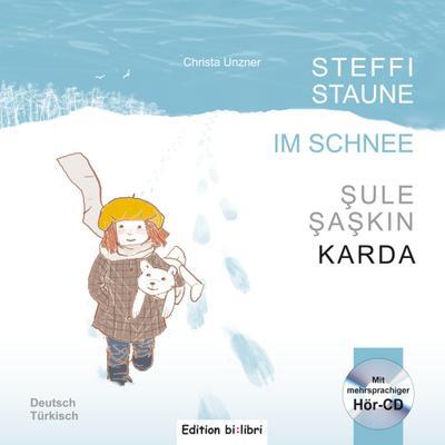 Steffi Staune im Schnee, m. Audio-CD