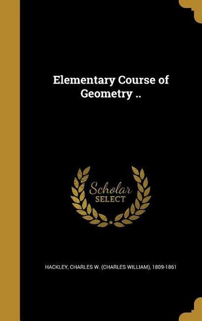 ELEM COURSE OF GEOMETRY