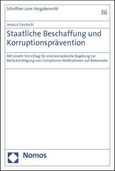 Staatliche Beschaffung und Korruptionsprävention