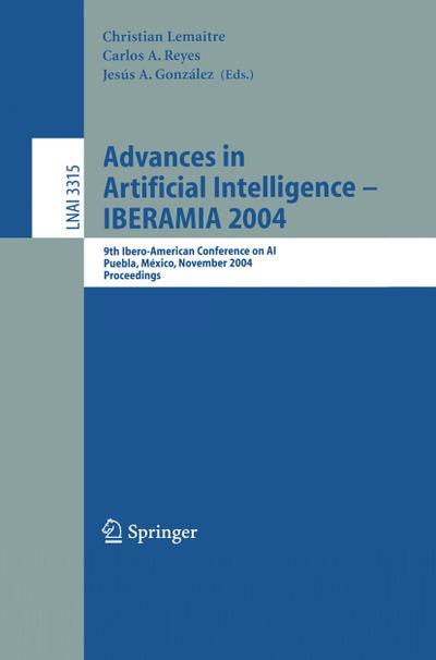 Advances in Artificial Intelligence -- IBERAMIA 2004
