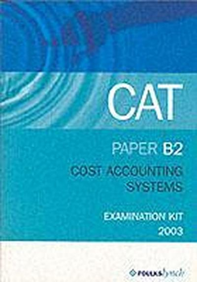 COST ACCOUNTING SYSTEMS B2