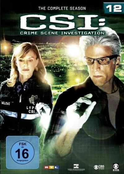 CSI: Las Vegas - Staffel 12 DVD-Box