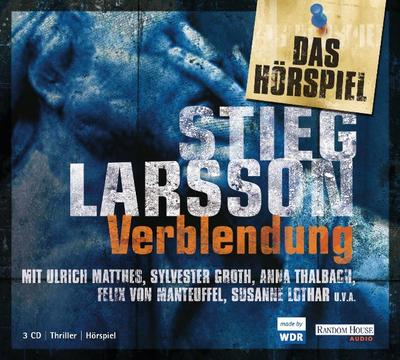 Verblendung - Das Hörspiel, 3 Audio-CDs
