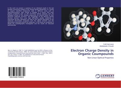 Electron Charge Density in Organic Coumpounds