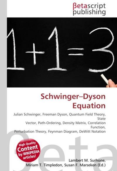 Schwinger-Dyson Equation