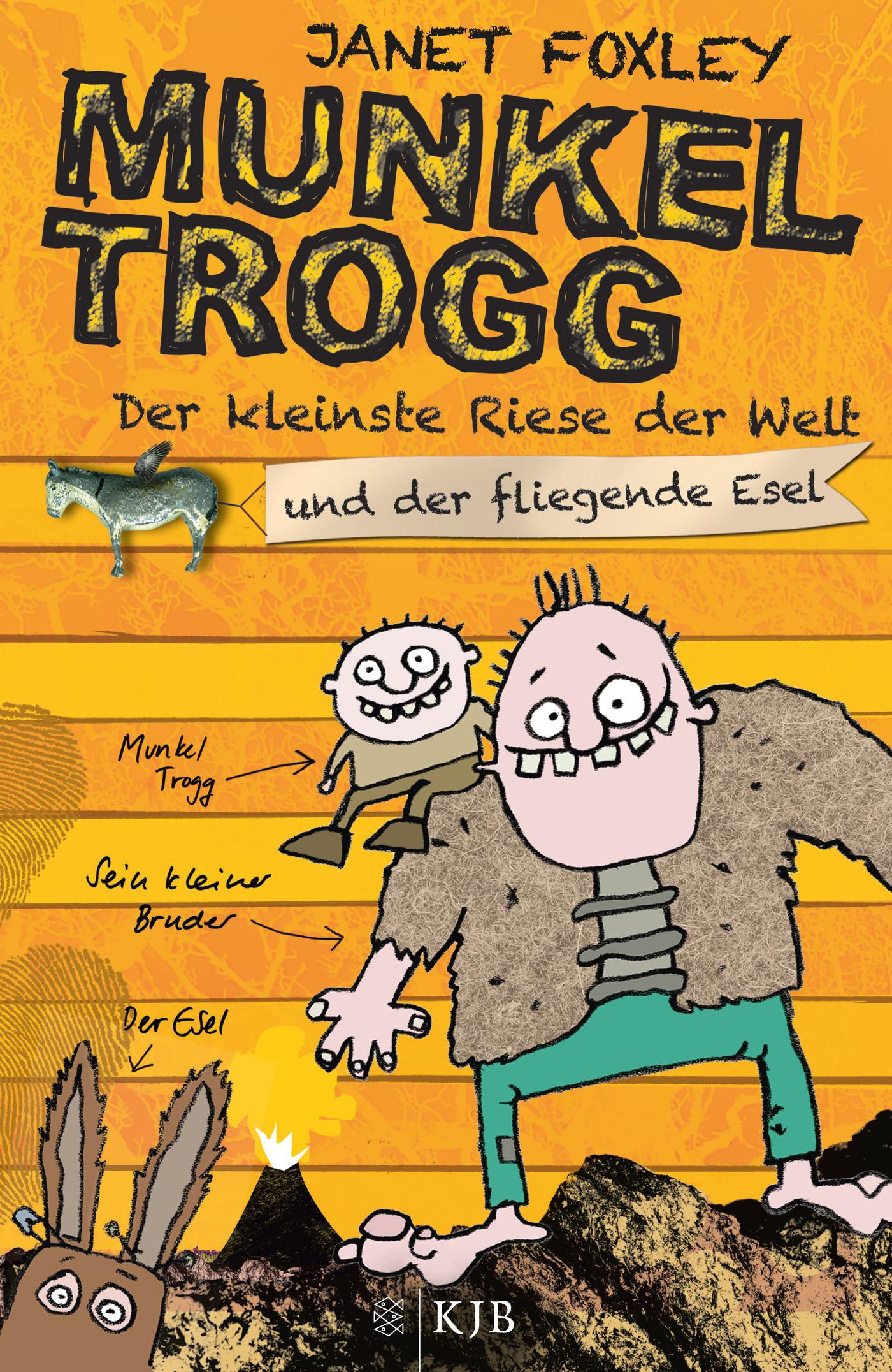 Janet Foxley ~ Munkel Trogg: Der kleinste Riese der Welt und d ... 9783596854967