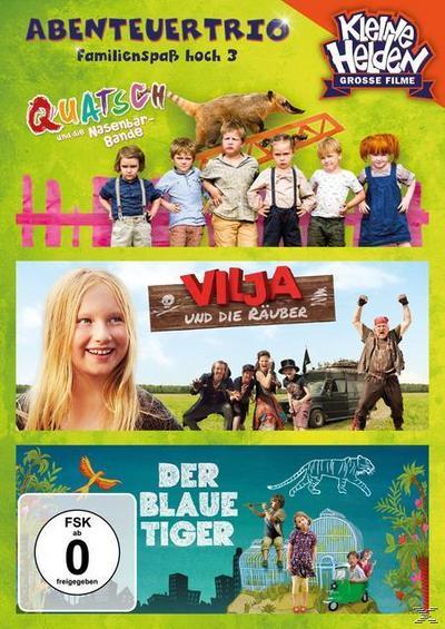 Abenteuertrio Kinderfilmbox - Familienspaß hoch 3 DVD-Box