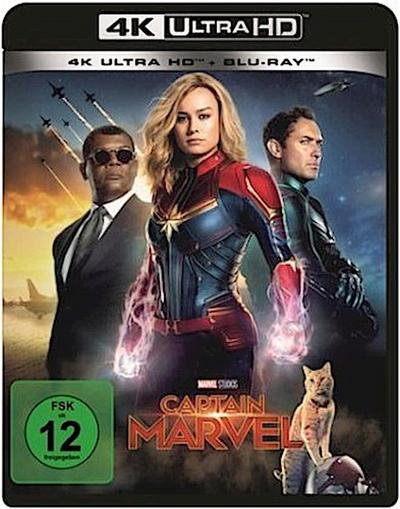 Captain Marvel 4K, 1 UHD-Blu-ray + 1 Blu-ray