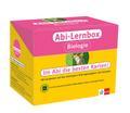 Klett Abi-Lernbox Biologie: 100 Lernkarten mit den wichtigsten Prüfungsaufgaben und Lösungen