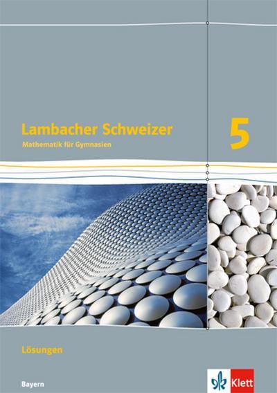 Lambacher-Schweizer, Ausgabe Niedersachsen G9 5. Schuljahr, Lösungen