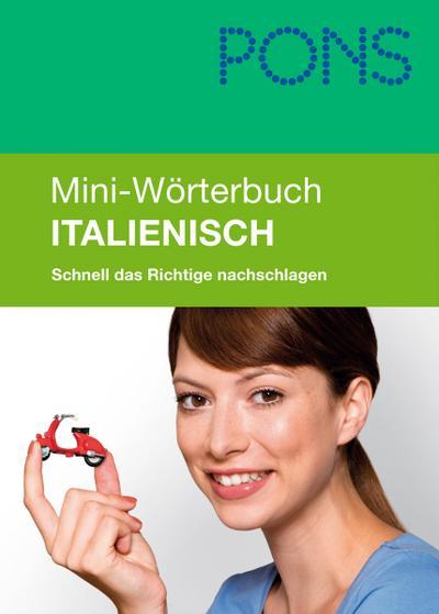 PONS Mini-Wörterbuch Italienisch
