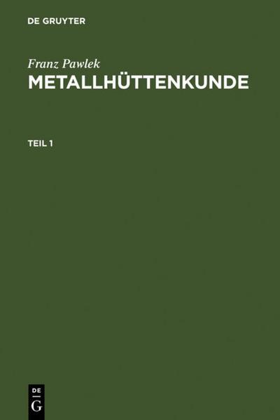Metallhüttenkunde