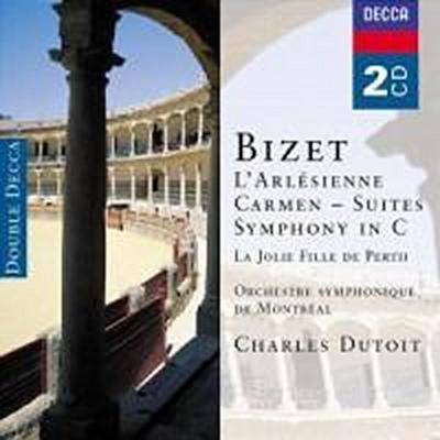 L'Arlesienne Suite/Carmen Suiten/Sinfonia R