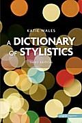 A Dictionary of Stylistics (Longman Linguistics)