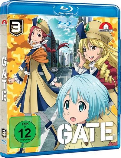 Gate. Tl.3, 1 Blu-ray