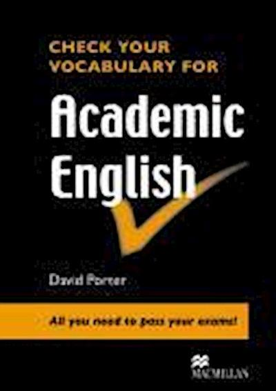 Check Vocabulary for Academic English Student Book