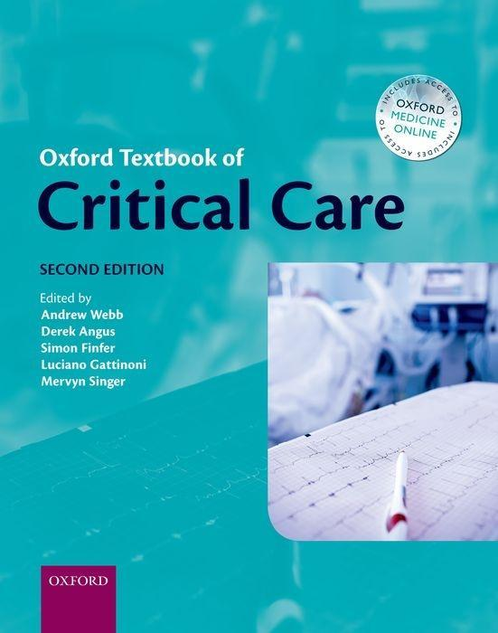 Oxford Textbook of Critical Care Andrew Webb