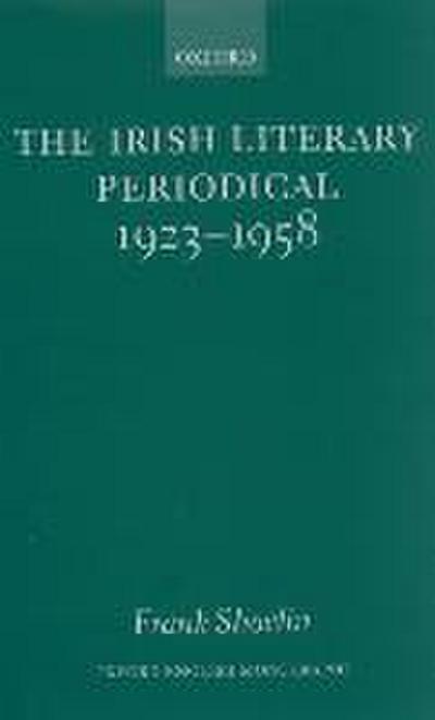The Irish Literary Periodical 1923-1958