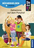 Die drei !!!, Bücherhelden 2. Klasse, Geheimnis auf dem Ponyhof