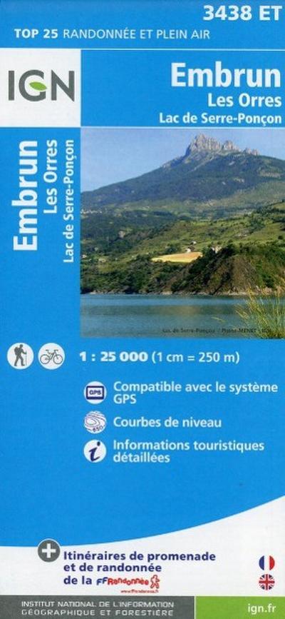 Embrun - Les Orres 1 : 25 000