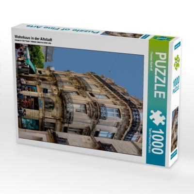 Wohnhaus in der Altstadt (Puzzle)