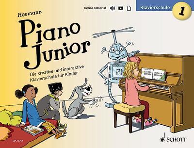 Piano Junior: Klavierschule 1