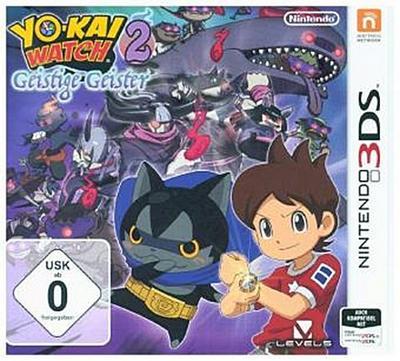 3DS YOKAI WATCH 2: Geistige Geister. Für Nintendo 3DS