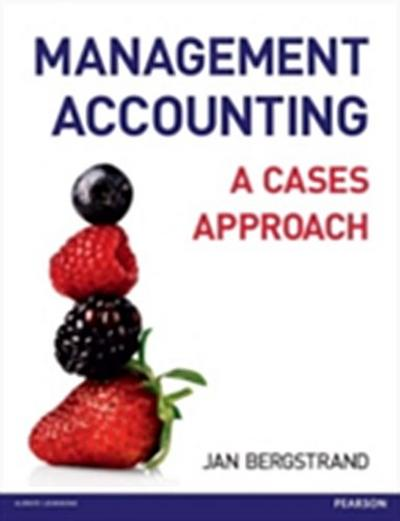 Management Accounting: A Cases Approach