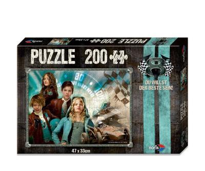 Noris Spiele 606031243 - V8 Puzzle Du willst der Beste sein - Team, 200 Teile - Noris - Spielzeug, Deutsch, , ,