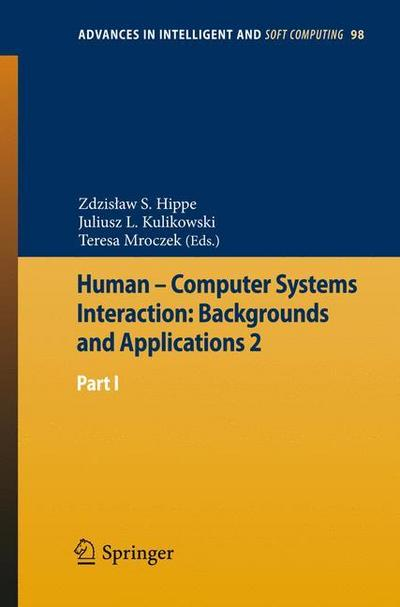 Human - Computer Systems Interaction: Backgrounds and Applications 2