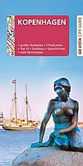 GO VISTA: Reiseführer Kopenhagen; Mit Faltkarte und 3 Postkarten; Go Vista; Deutsch; 95 Fotos, mit herausnehmbarer Faltkarte