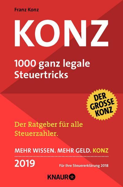 Konz, 1000 ganz legale Steuertricks 2019