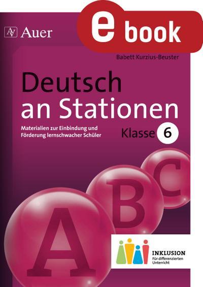 Deutsch an Stationen 6 Inklusion