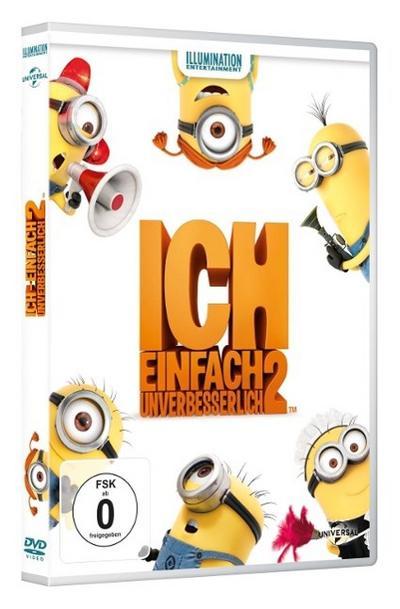 Ich - Einfach unverbesserlich 2, 1 DVD