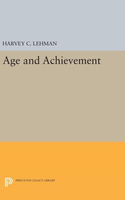 Age and Achievement