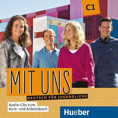 Mit uns C1 2 Audio-CDs zu Kurs- und Arbeitsbuch