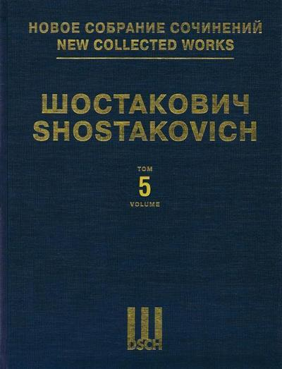Symphony No. 5, Op. 47: New Collected Works of Dmitri Shostakovich - Volume 5