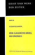 Der Gallische Krieg bei Orosius