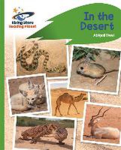 Reading Planet - In the Desert - Green: Rocket Phonics