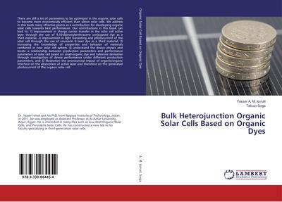 Bulk Heterojunction Organic Solar Cells Based on Organic Dyes