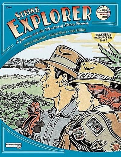 String Explorer, Bk 1: Teacher's Resource Kit