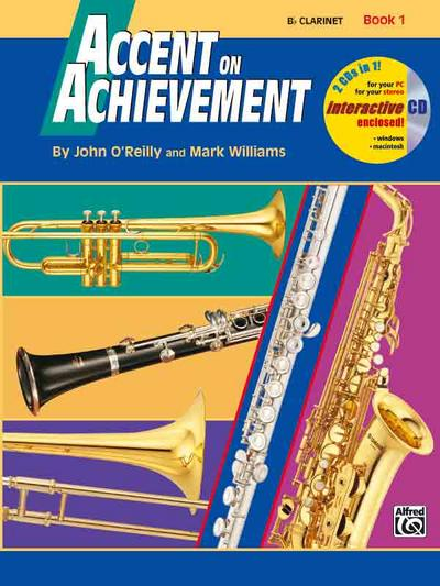 Accent On Achievement, Fagott, w. mixed mode-CD. Bk.1