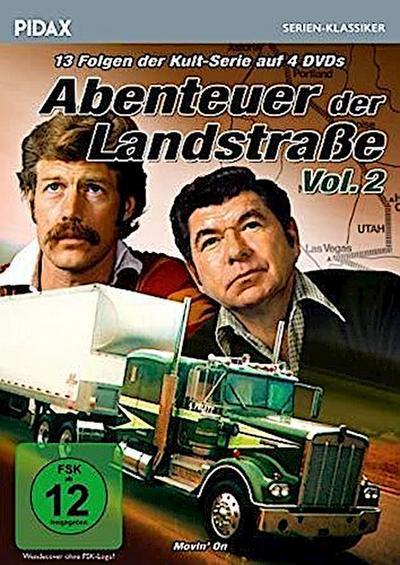Abenteuer der Landstraße, Vol. 2. 4 DVDs