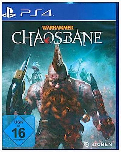Warhammer Chaosbane, 1 PS4-Blu-ray Disc
